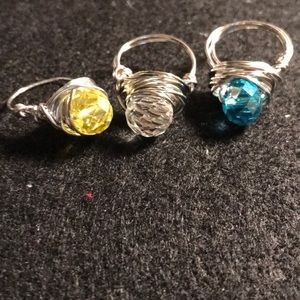 Jewelry - 3 wire rings